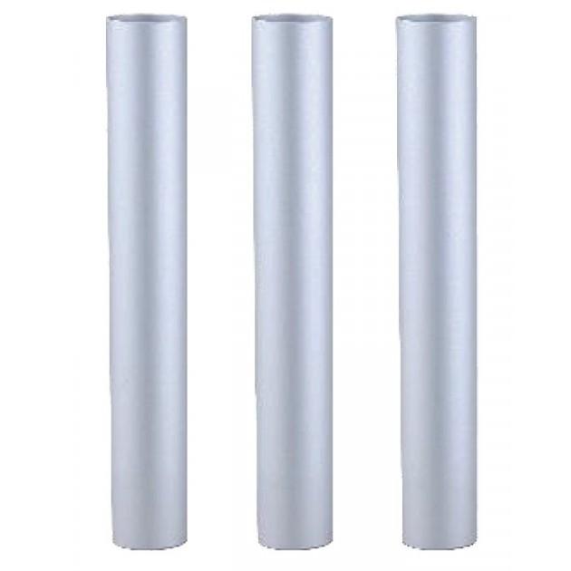 TBFX00988 - Lot de 3 tubes aluminium chromés de 50cm pour YP 1/6 ECO B