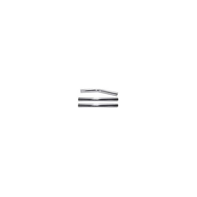 LAFN37777- Canne courbée diamètre 51 métallique 3 parties