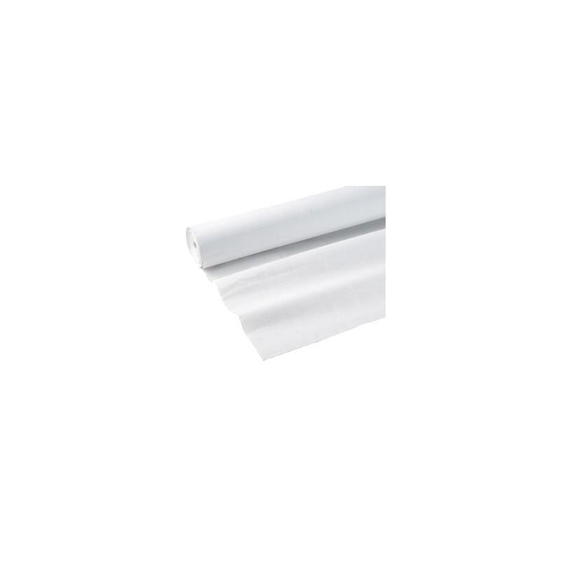 Nappes papier damassées blanches