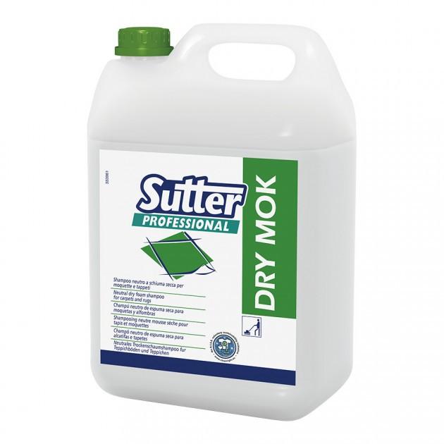 Shampoing moquette neutre mousse sèche 5 L Dry Mok Sutter