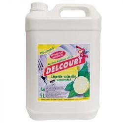 Liquide vaisselle désinfectant bidon de 5 L Delcourt