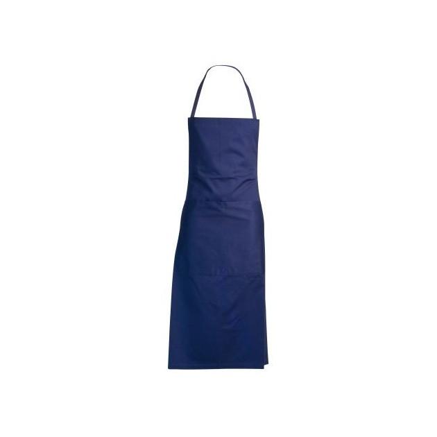 Tablier cuisine bleu professionnel