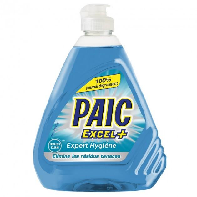 Liquide vaisselle mains antibactérien Excel + 500 ml Paic - lot de 3