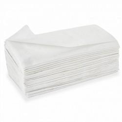 Essuie-mains pliés en M grand confort 3 plis Delcourt
