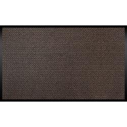 Tapis d'accueil intérieur antidérapant marron 90 x 150 cm