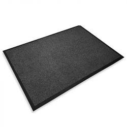 Tapis d'accueil intérieur microfibre super absorbant Microstar 60 x 90 cm gris
