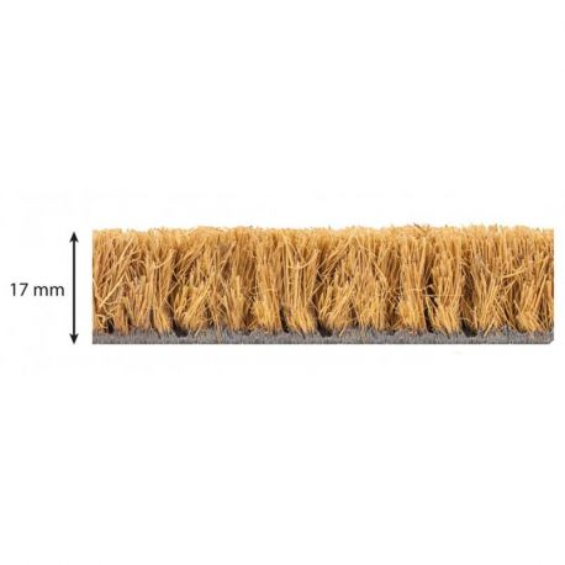 Tapis brosse coco qualité supérieure découpe sur-mesure