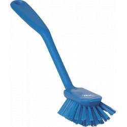 Brosse à vaisselle medium HACCP 280 mm bleu