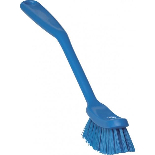 Brosse à vaisselle medium HACCP 209 mm bleu