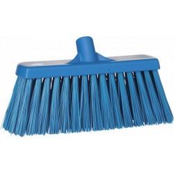 Balai brosse extérieur extra dur HACCP 300 mm bleu
