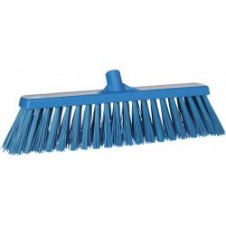 Balai brosse extérieur extra dur HACCP 530 mm bleu