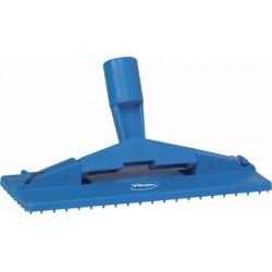 Support tampon spécial sol 230 mm bleu