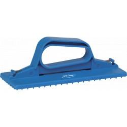Support tampon manuel tampon 230 mm bleu