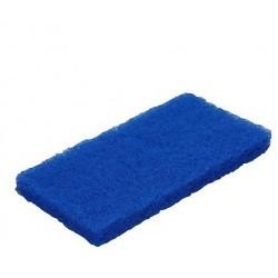 5524 - Tampon à récurer medium bleu 23x125x245 mm VIKAN