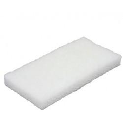 5525 - Tampon à récurer doux blanc 23x125x245 mm VIKAN