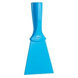 Spatule alimentaire nylon à pas-de-vis 100 mm bleu