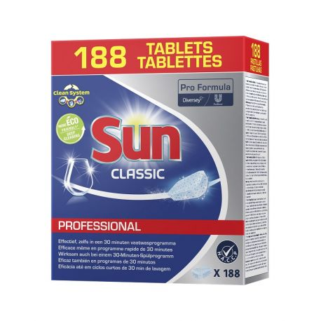 Tablette lave-vaisselle Classic Sun - baril de 188