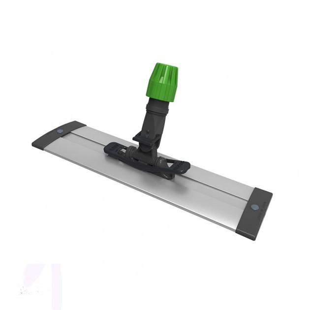 Support de balai en aluminium 40 x 10 cm pour lavage à plat Rail ICA