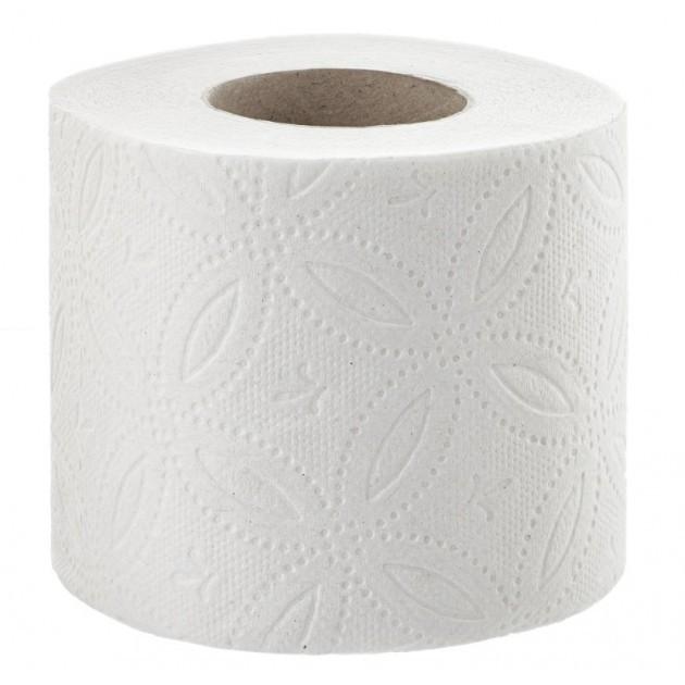 Papier toilette 4 épaisseurs blanc - Colis de 72 rouleaux
