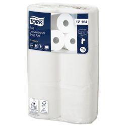 Papier toilette doux premium Tork - colis de 96 rouleaux de 198 feuilles