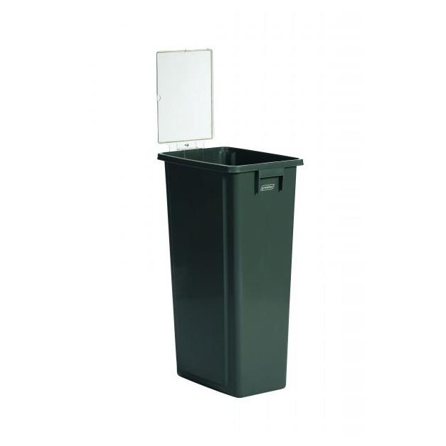 Panneau d'affichage vertical pour poubelle de tri sélectif 60L et 80L