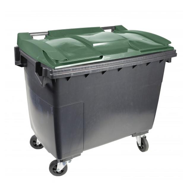 Conteneur poubelle 4 roues sans prise ventrale 770 L Citybac Sulo