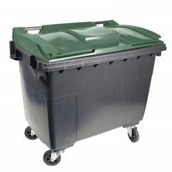 Conteneur poubelle 4 roues sans prise ventrale 1 000 L Citybac Sulo
