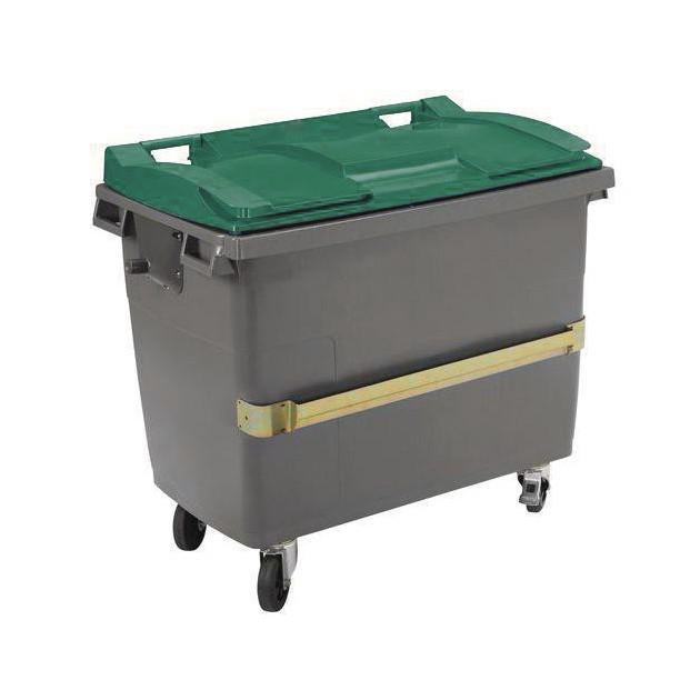 Conteneur poubelle 4 roues avec prise ventrale Citybac Sulo