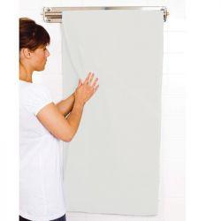 Essuie-main blanc coton 50 x 250 cm