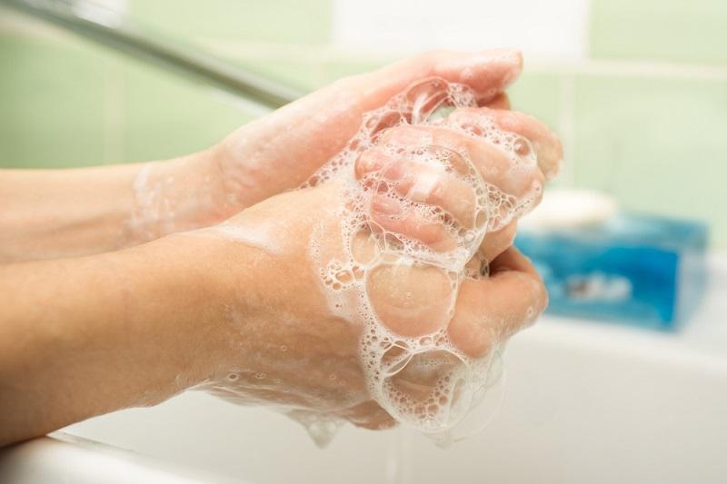 savons mains à usage professionnel