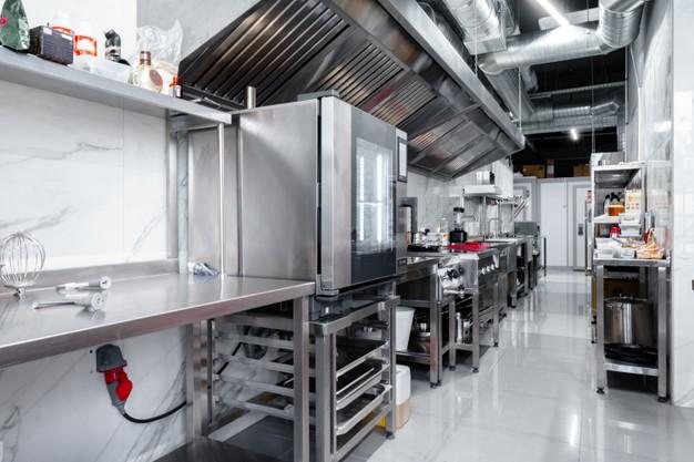 nettoyer une cuisine professionnelle