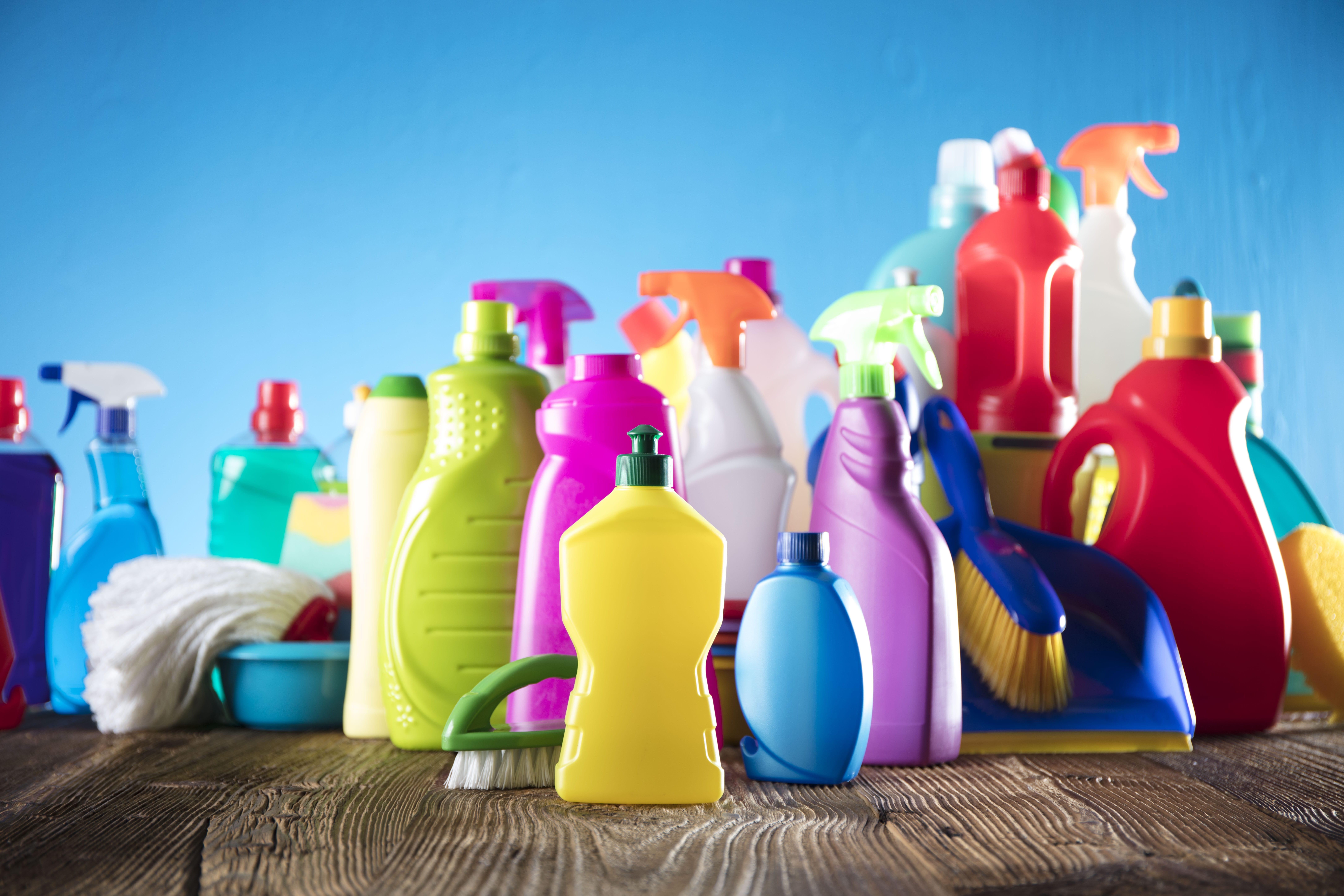 La classification des produits d'entretien