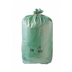 Lot de 500 Sacs vert ecologique 50L