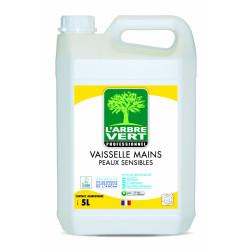 Vaisselle et mains peaux sensibles Arbre vert 5L