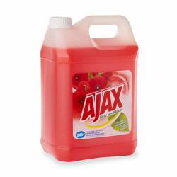 AJAX détergent parfumé Fleurs rouges