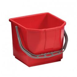 Seau rouge 15L