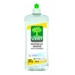 Vaisselle et mains peaux sensibles Arbre vert 750 ml