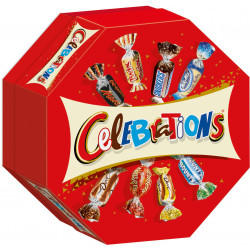 La boite de chocolats Célébrations