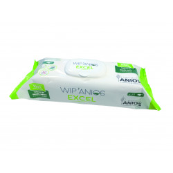 Lingettes désinfectantes WIP ANIOS - Boîte de 50