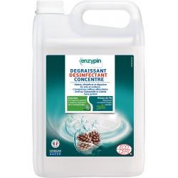Nettoyant dégraissant désinfectant concentré Enzypin 5 L