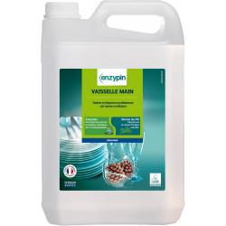 Liquide vaisselle main sans parfum Enzypin 5 L