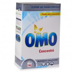 Lessive poudre textile baril de 110 lavages Omo