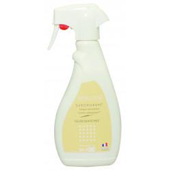Désodorisant surodorant parfumé spray 500 ml FLEURS BLANCHES