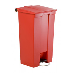 Collecteur 87 L Step-On Classic Rubbermaid- rouge