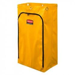 Sac à déchet en vinyle jaune Rubbermaid-OUVERTURE