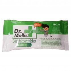 Lingettes désinfectantes Dr Morris - Etui de 40