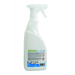 Spray hydroalcoolique désinfectant 750 ml Sanitizer EN14476