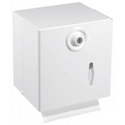 Distributeur de papier toilette mixte