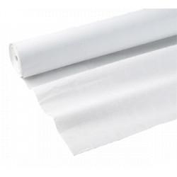 Nappes papier damassées blanches 100m
