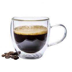 Le lot de 2 tasses à café